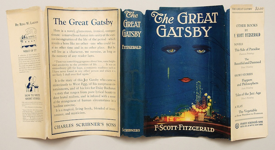 MPL-2013.-Peter-Harrington.-The-Great-Gatsby-first-edition-dust-jacket-by-Francis-Cugat-1925.-1