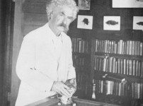 Mark Twain, cat and shed lover – a man of great discernment